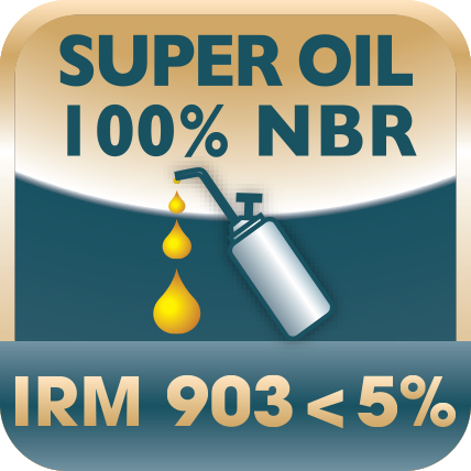 Picto_Sangle Antigras_IRM 903<5%_Super Oil 100% NBR°